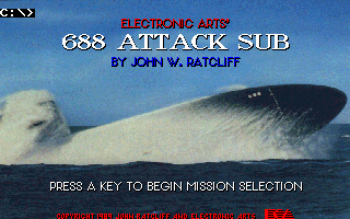 688 Attack Sub Dos Game