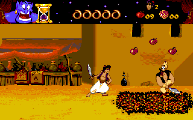 Aladdin - Old DOS Games - Download for Free or play on ...