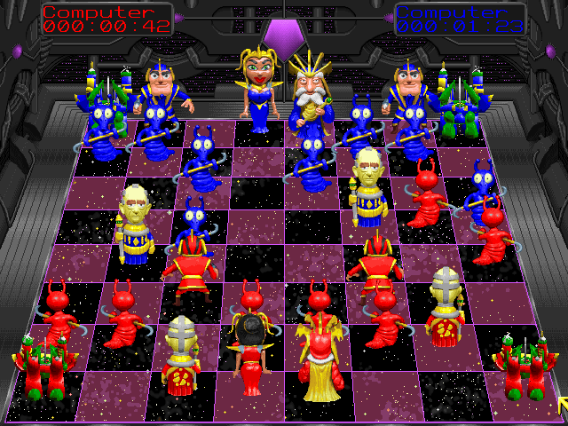 Battle Chess Dos