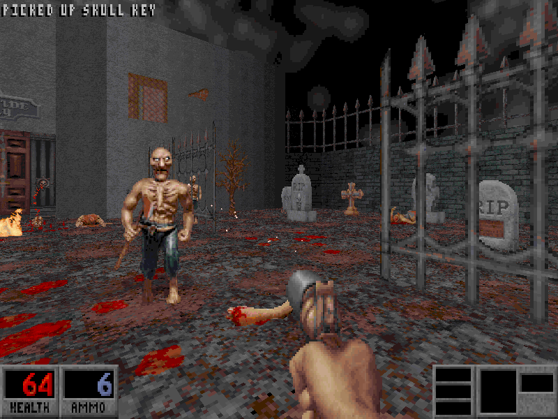 Blood | Old DOS Games | Download for Free or play on Windows online