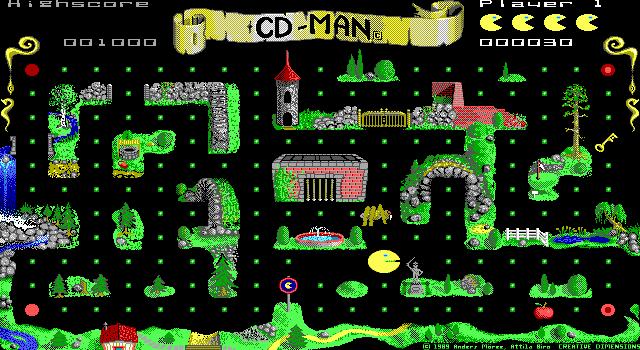 Cd Man Online Spielen