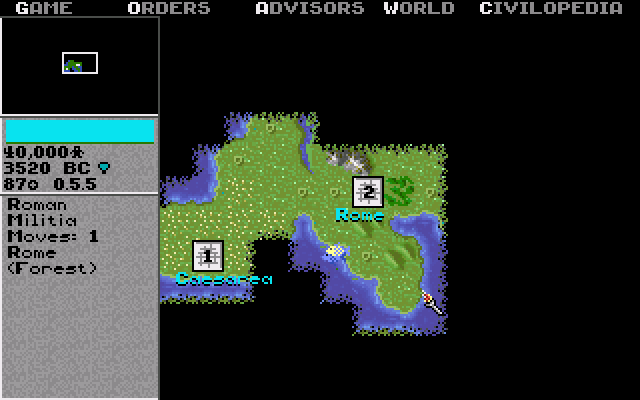 Civilization | Old DOS Games | Download for Free or play on