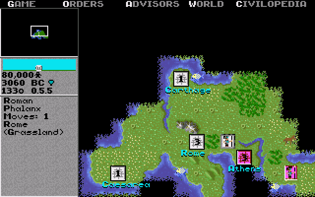 Civilization   Old MS-DOS Games   Download for Free or play in ...