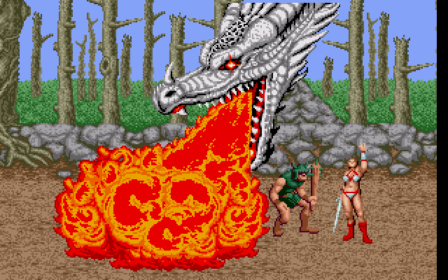 Golden Axe - Old MS-DOS Games - Download for Free or play in Windows ...