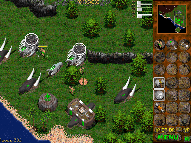 Jurassic War | Old DOS Games | Download for Free or play on