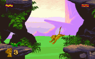 Lion King | Old DOS Games | Download for Free or play on