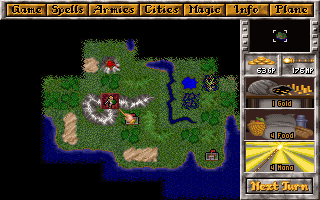 Master of Magic | Old DOS Games | Download for Free or play on