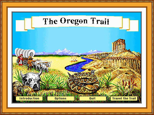 Oregon Trail | Old MS-DOS Games | Download for Free or ...