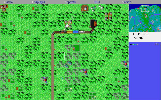 Railroad Tycoon Deluxe | Old DOS Games | Download for Free