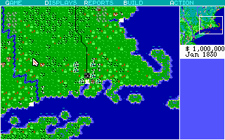 Railroad Tycoon | Old DOS Games | Download for Free or play on