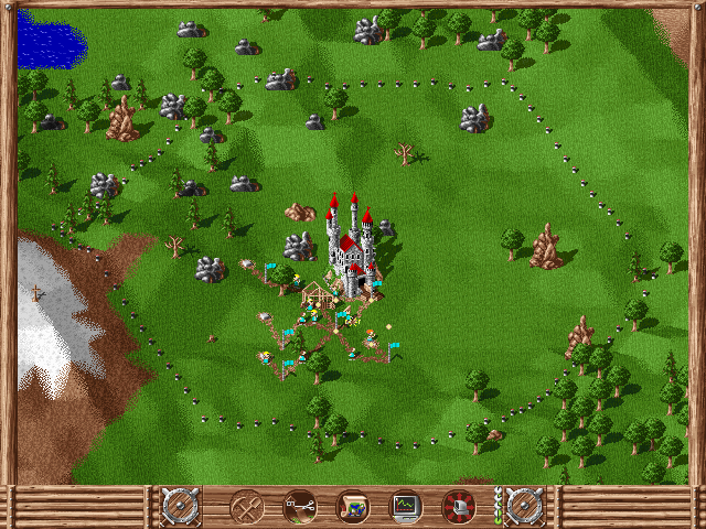 Settlers | Old DOS Games | Download for Free or play on Windows online