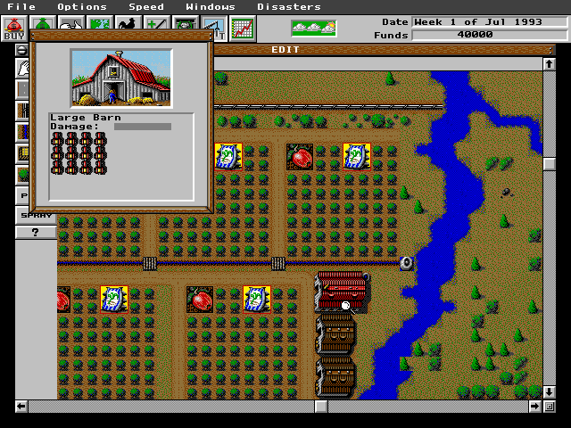 SimFarm | Old DOS Games | Download for Free or play on
