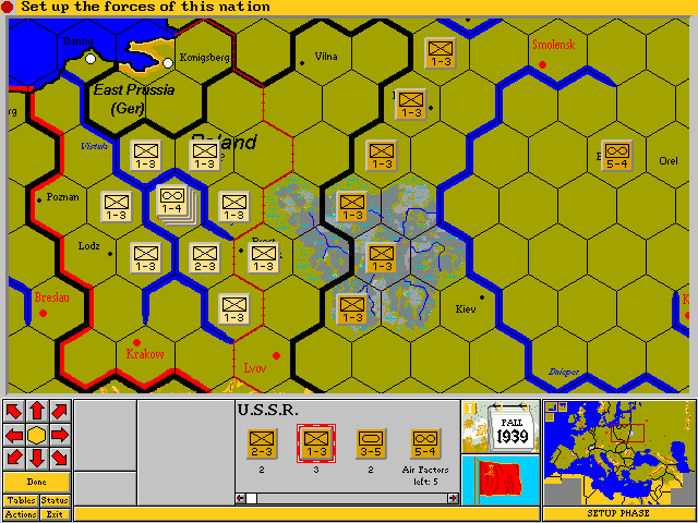Third Reich Old MSDOS Games Download For Free Or Play In - Third reich map 1944