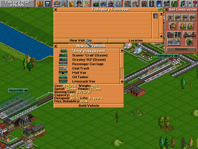 Transport Tycoon Deluxe | Old DOS Games | Download for Free