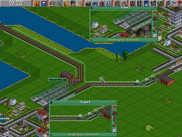 Transport Tycoon Deluxe | Old MS-DOS Games | Download for Free or play in Windows DOSBox online ...