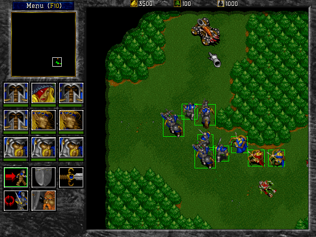 how to run warcraft 2 on dosbox